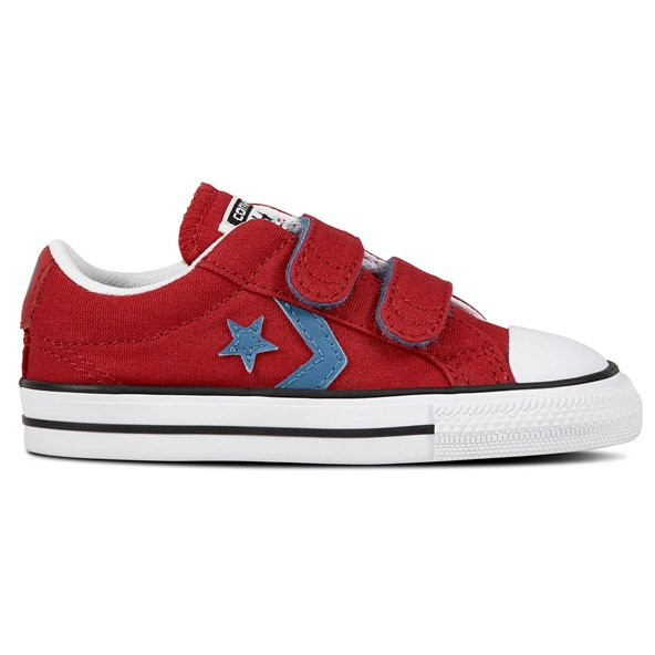 Converse Star Player Ox Infant Boys' Trainer, Red