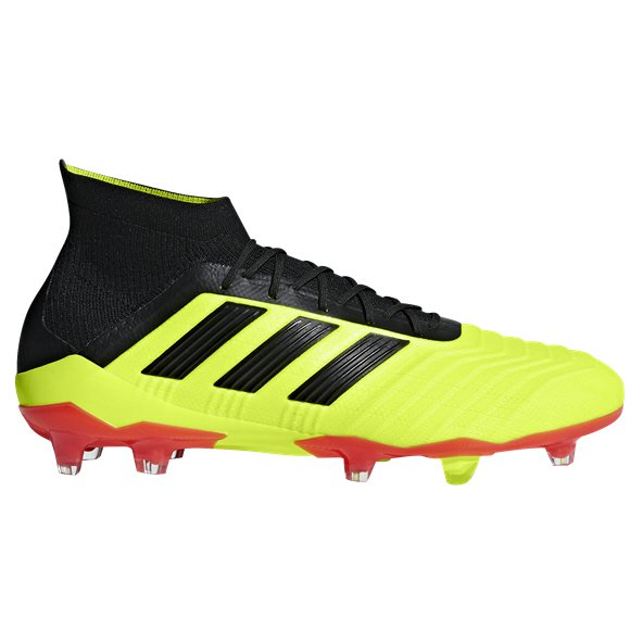 adidas Predator 18.1 FG Football Boot, Yellow