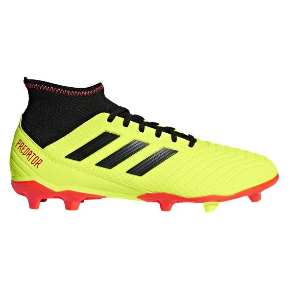 adidas Predator 18.3 FG Football Boot, Yellow
