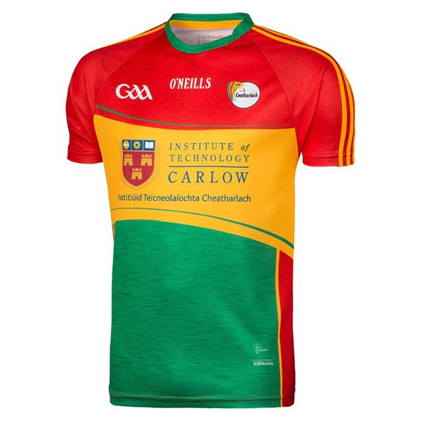 O'Neills Carlow 2018 Kids' Home Jersey, Red