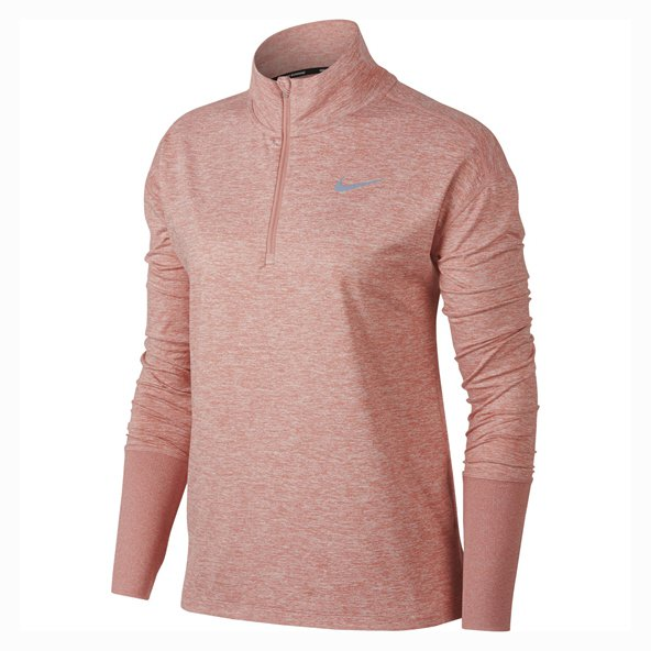 Nike Element Women's ½ Zip Running Top, Pink