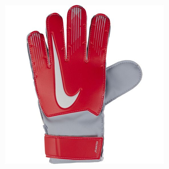 Nike Match Kids' Goalkeeper Glove, Red