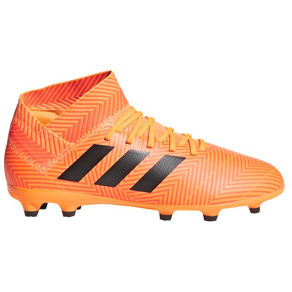 adidas Nemeziz 18.3 Kids' FG Football Boot, Orange
