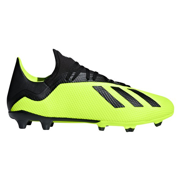 adidas X 18.3 FG Football Boot, Yellow