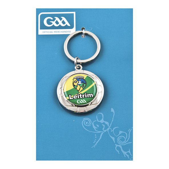 Introsport Leitrim Chrome Keyring