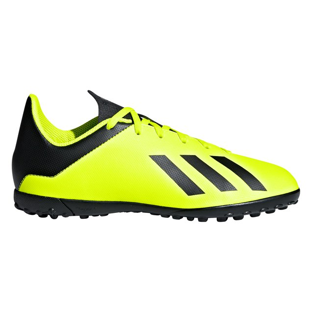 adidas X Tango 18.4 Kids' Astro Boot, Yellow