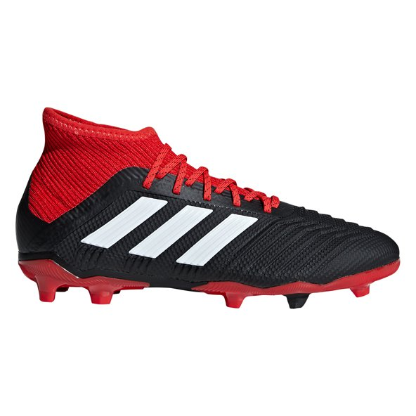 adidas Predator 18.1 FG Kids' Football Boot, Black
