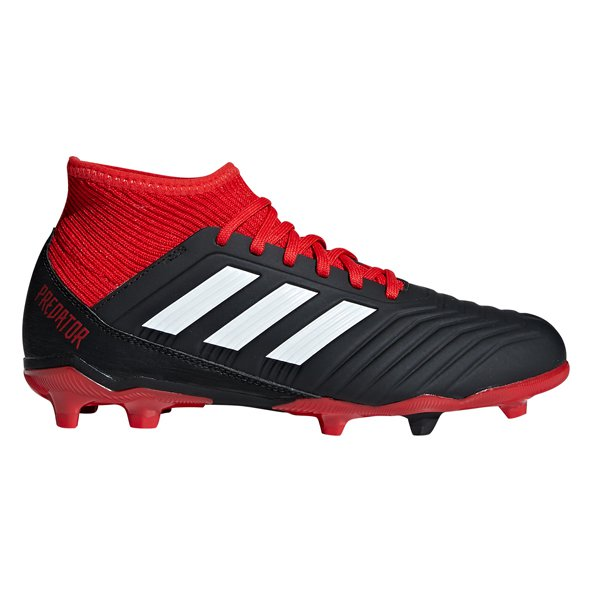 adidas Predator 18.3 FG Kids' Football Boot, Black