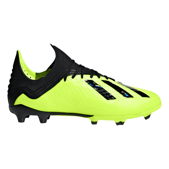 adidas X 18.1 FG Kids' Football Boot, Yellow