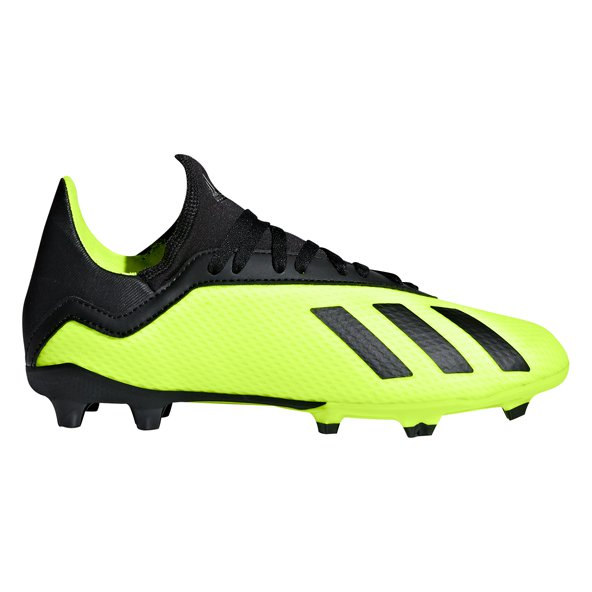 adidas X 18.3 FG Kids' Football Boot, Yellow