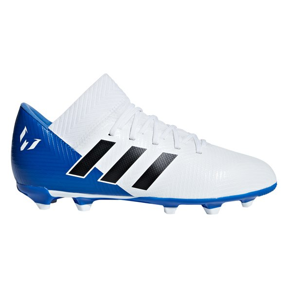 adidas Nemeziz Messi 18.3 FG Kids' Football Boot, White