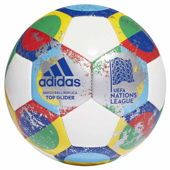 adidas UEFA Nations League Ball Wht/Silv