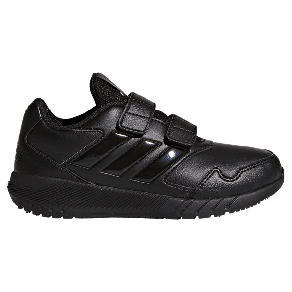 adidas AltaRun CF Junior Boys' Trainer, Black
