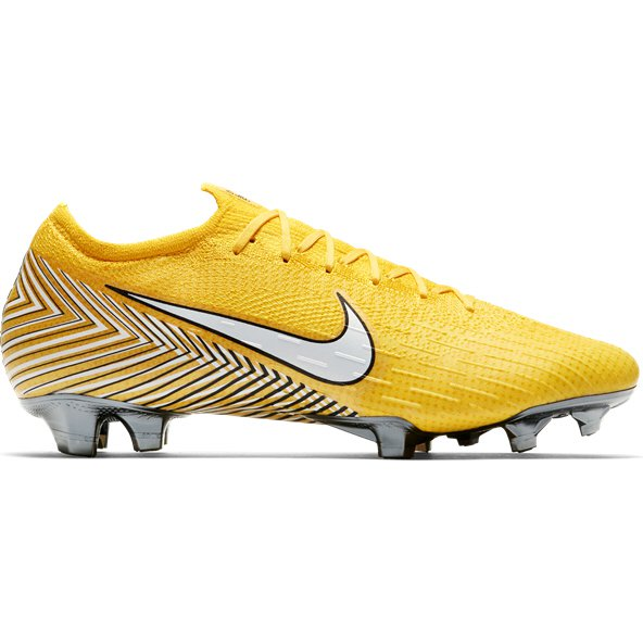 Nike Mercurial Neymar Vapor 12 Elite FG Football Boot, Yellow
