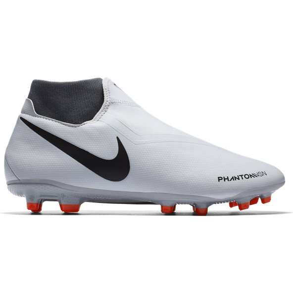 Nike Phantom 3 Academy DF FG Football Boot, Grey