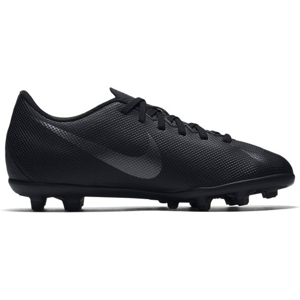 Nike Mercurial Vapor Club GS Kids FG Blk