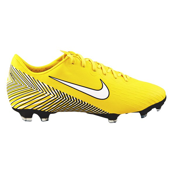 Nike Mercurial Neymar Vapor 12 Elite FG Kids' Football Boot, Yellow