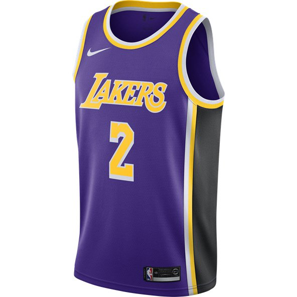 Nike LA Lakers Alternative Jersey - Ball 2 c6e30b4c4f