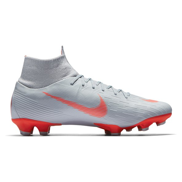 Nike Mercurial Superfly 6 Pro FG Football Boot, Grey