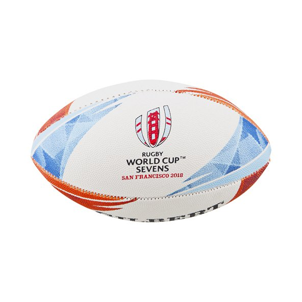Gilbert RWC 7s 2018 Mini Ball Wht