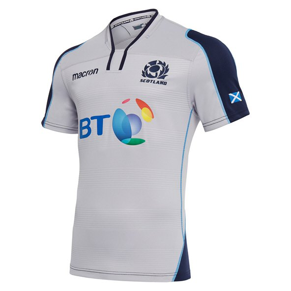 Macron Scotland Away 18 Jersey White