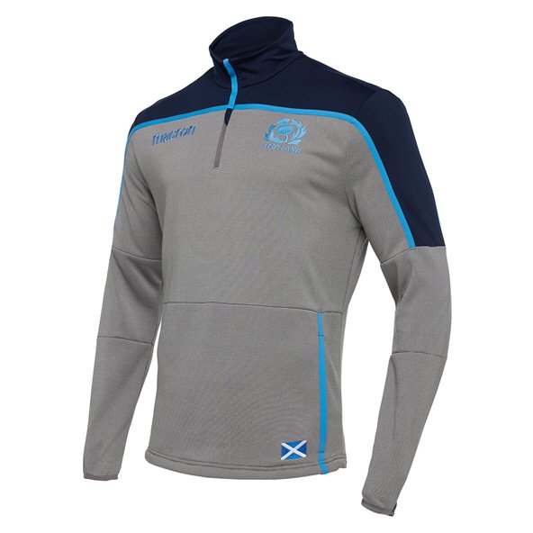 Macron Scotland 18 QZ Top Grey