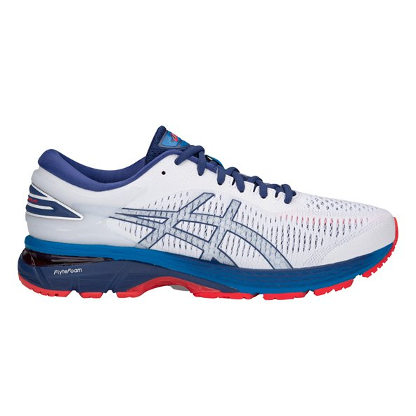 Asics Gel-Kayano 25 Men's Running Shoe, White