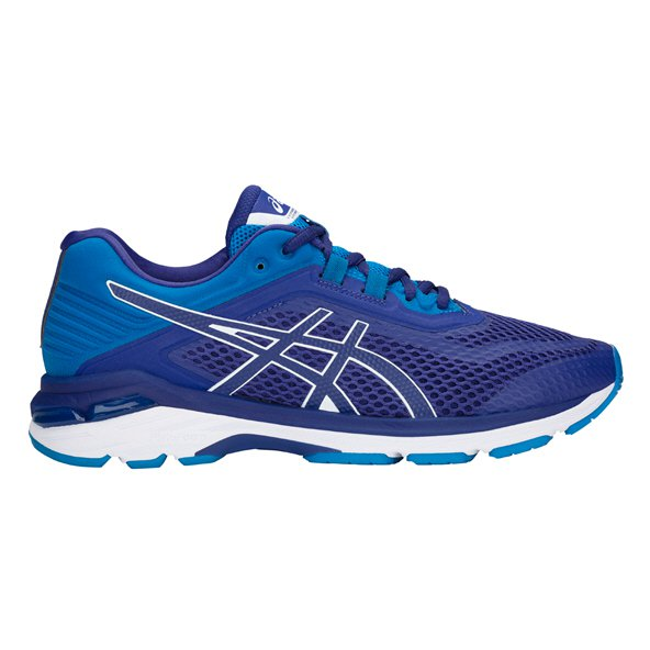 Asics GT-2000 6 (2E) Men's Running Shoe, Blue
