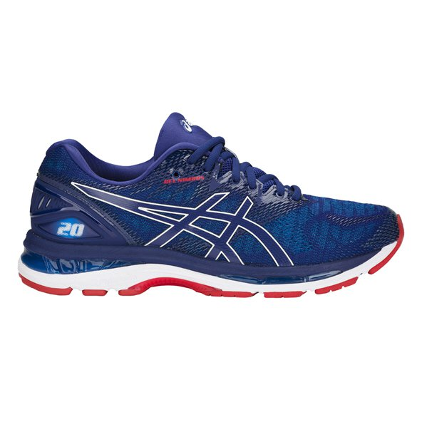 Asics Gel-Nimbus 20 Men's Running Shoe, Blue