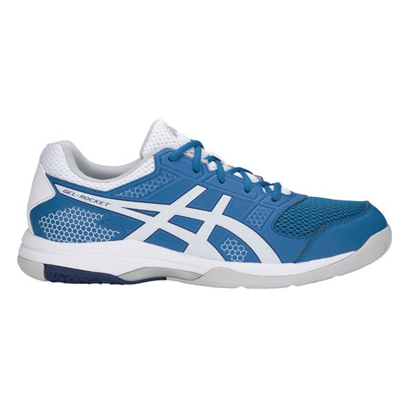 Asics Gel-Rocket 8 Men's Squash Shoe, Blue