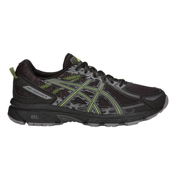 Asics Gel-Venture 6 Men's Running Shoe, Black