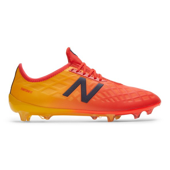 New Balance Furon 4.0 Pro FG Football Boot, Orange