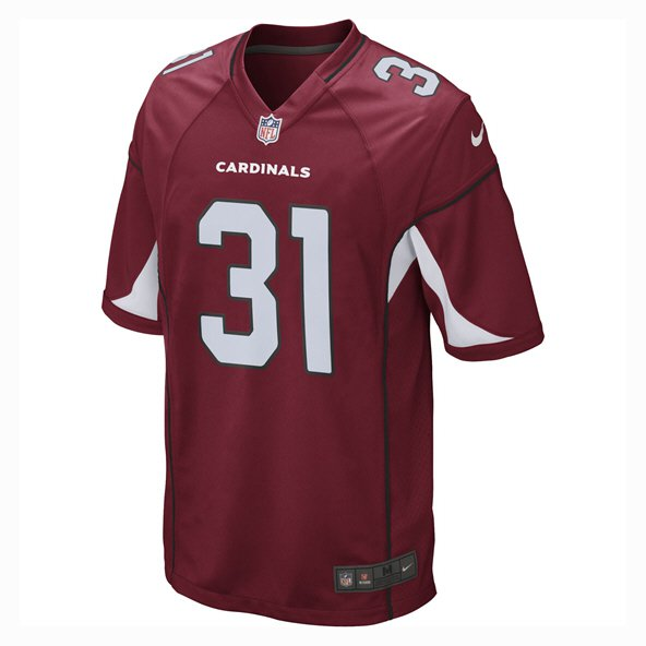 Nike Cardinals Johnson 31 Jersey, Red