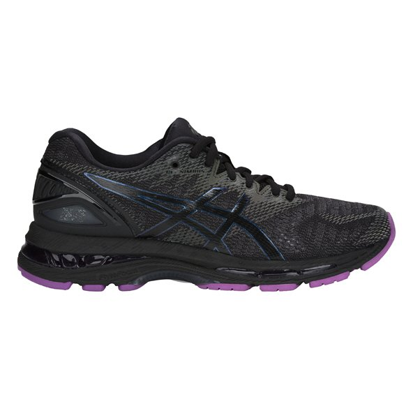Asics Gel-Nimbus 20 Lite-Show Women's Running Shoe, Black