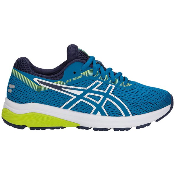 Asics GT-1000 7 Boys' Running Shoe, Blue