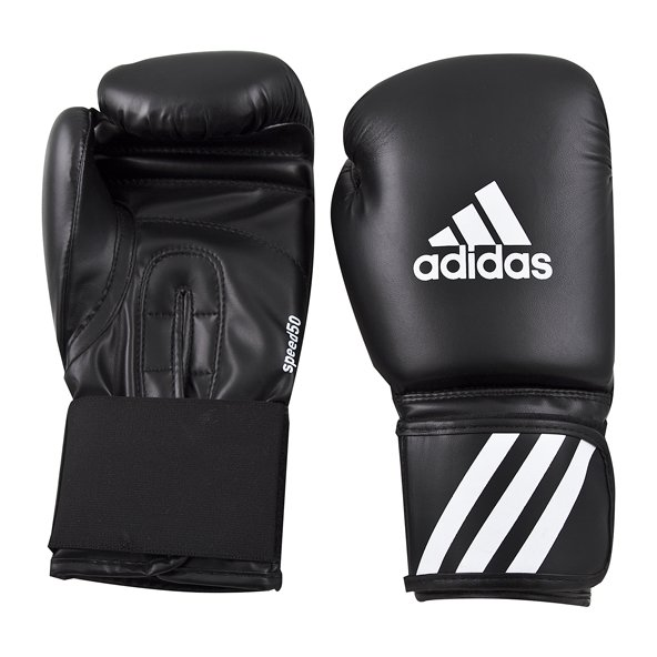 adidas Speed 50 12oz Boxing Gloves Blk/G