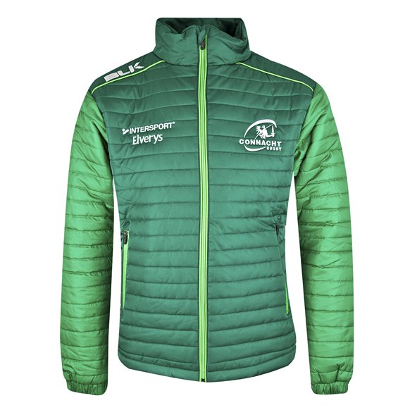 BLK Connacht 18 Puffer Jacket Green