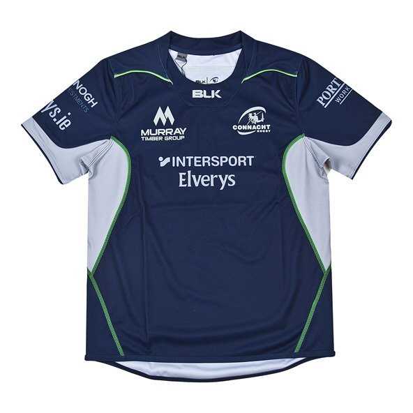 BLK Connacht 2018 Kids' Alternative Jersey, Navy