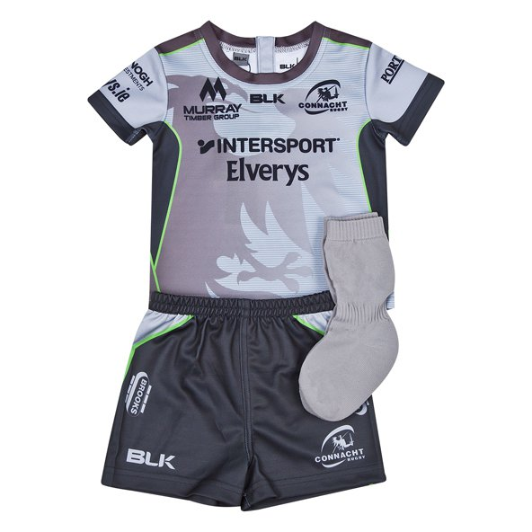 BLK Connacht 2018 Euro Toddler Kit, Silver