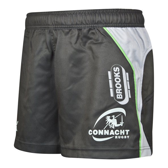 BLK Connacht 2018 Kids' Euro Short, Grey