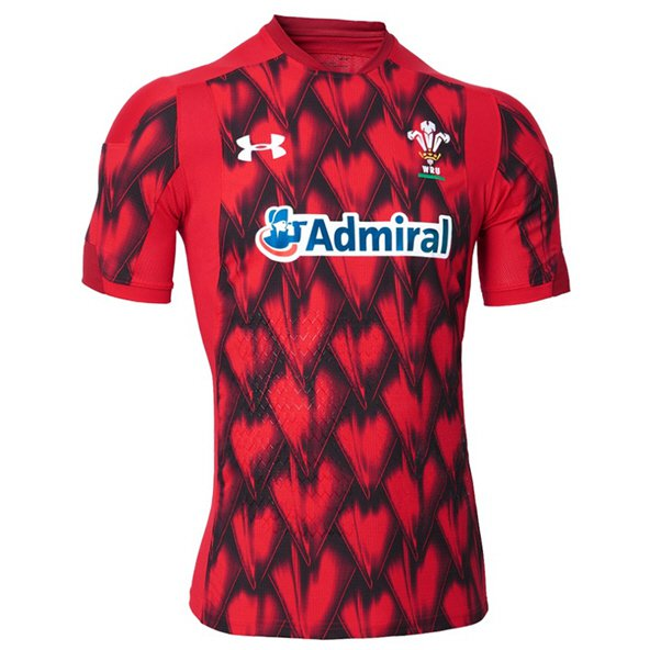 UA WRU 2018 7s Jersey Red