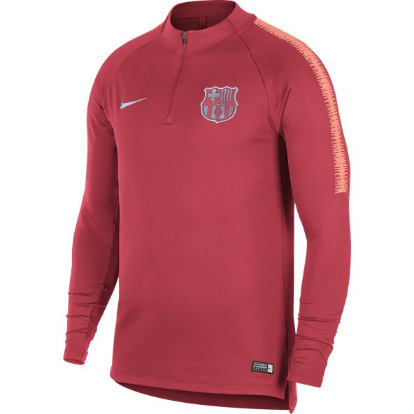 Nike FC Barcelona 18 Squad Drill Top, Pink