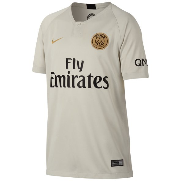 Nike PSG 2018/19 Kids' Away Jersey, White