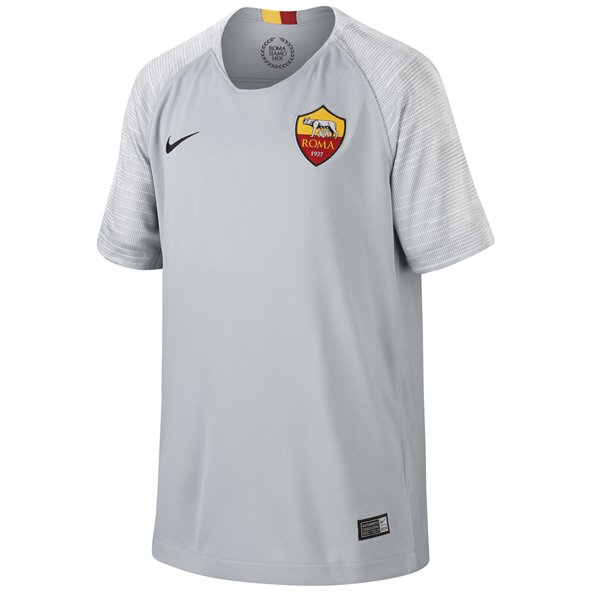 Nike AS Roma 2018/19 Kids' Away Jersey, Grey