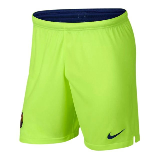Nike FC Barcelona 2018/19 Kids' Away Short, Volt
