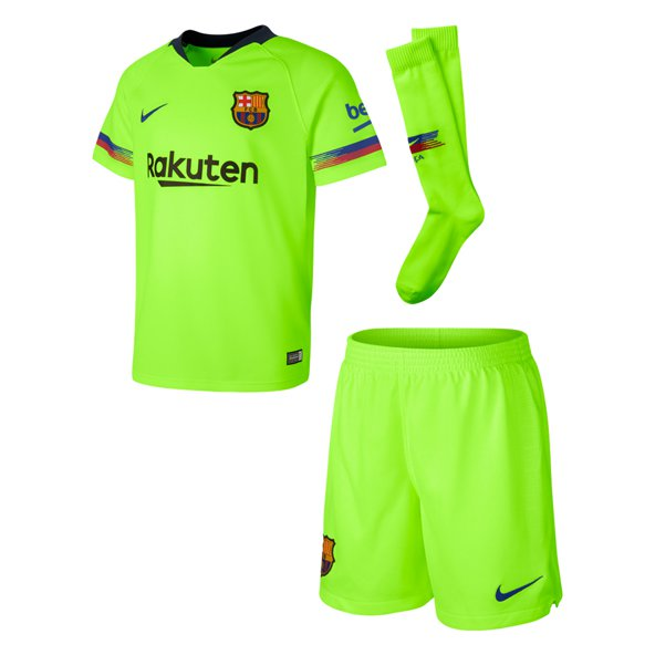 Nike FC Barcelona 2018/19 Away Mini Kit, Volt