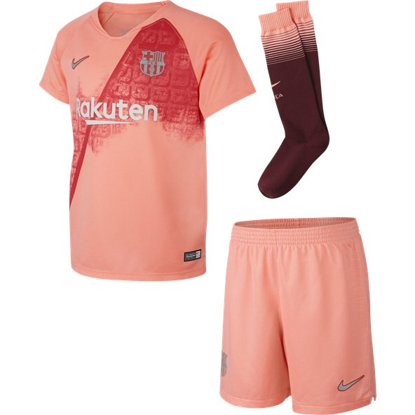 Nike FC Barcelona 2018/19 3rd Mini Kit, Pink