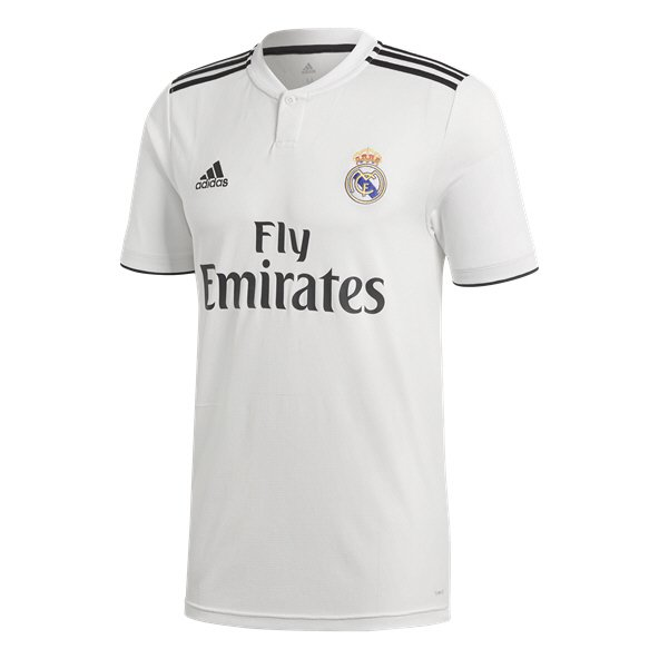 5ae0284f8 adidas Real Madrid 2018 19 Home Jersey