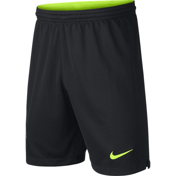 Nike FC Barcelona 2018/19 Kids' Goalkeeper Short, Black