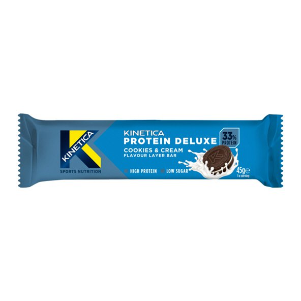 Kinetica Protein Deluxe Bar - Cookies & Cream